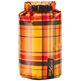 SealLine Discovery Dry Bag 10l orange plaid